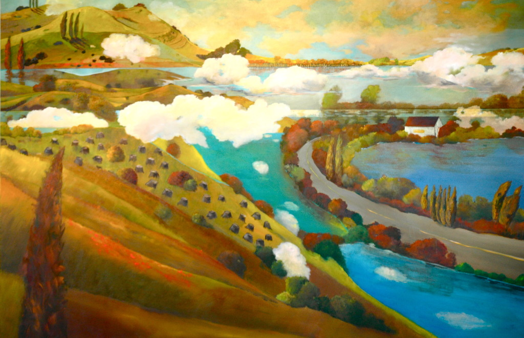 WaterUnderTheBridge48x60CARRERA