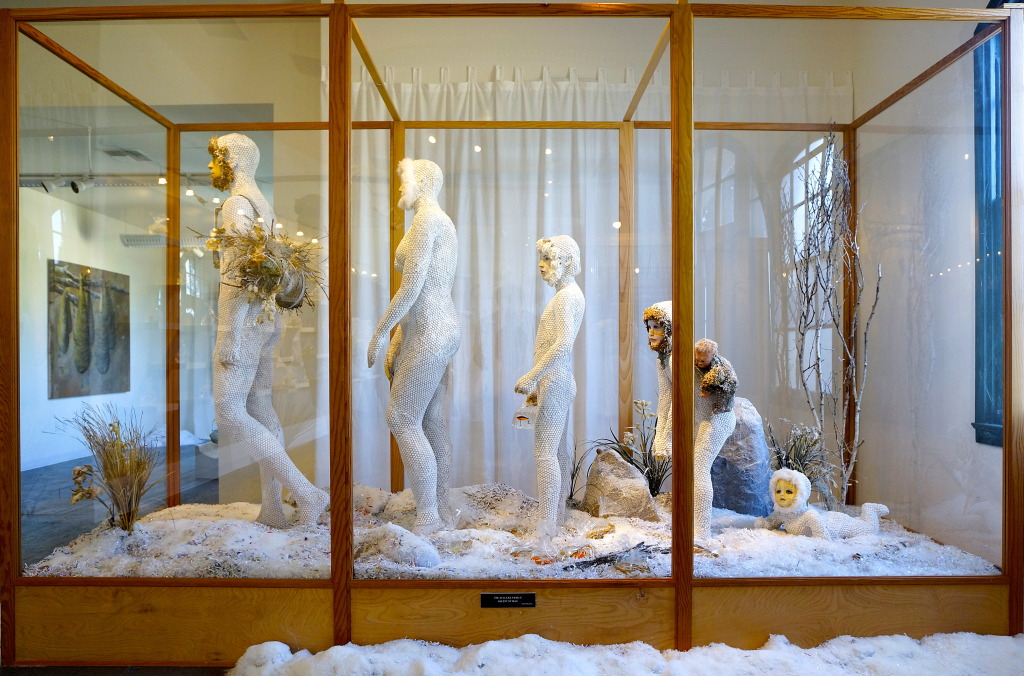 THE NUCLEAR FAMILY: Ascent of Man installation